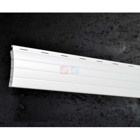 Lame 44mm PVC Blanc 160cm de long