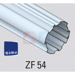 adaptations moteur simu-Somfy Ø50 - Tube ZF 54