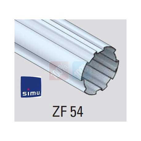 adaptations moteur simu Ø50 - Tube ZF 54
