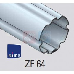 Adaptations moteur simu-Somfy Ø50 - Tube ZF 64