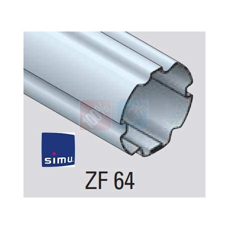 Adaptations moteur simu Ø50 - Tube ZF 64