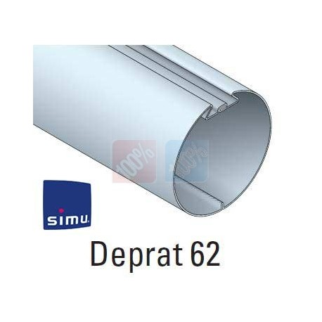 Adaptations moteur simu Ø50 - Tube deprat 62