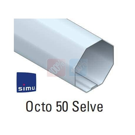 adaptations moteur simu Ø50 - Tube octo 50 Selve