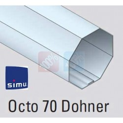 Adaptations moteur simu-Somfy Ø50 - Tube octo 70 dohner