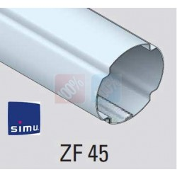 adaptations moteur simu Ø40 - Tube ZF 45