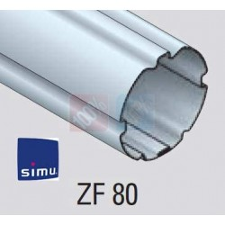 Adaptations moteur simu-Somfy Ø60 - Tube ZF 80