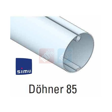Adaptations moteur simu Ø50 - Tube Döhner 85