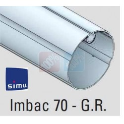 Adaptations moteur simu Ø50 - Tube Imbac Ø70 GR