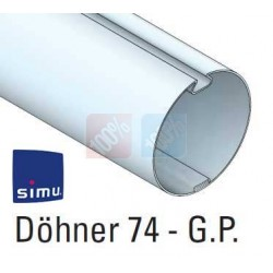 Adaptations moteur simu Ø50 - Tube  Döhner Ø74 GP