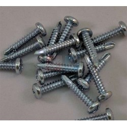Lot de 10 Vis Zebra Auto-foreuses 4,2 X 22mm