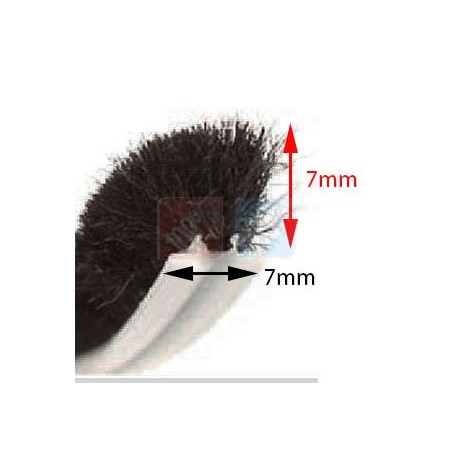 Joint Brosse 6,7mm x 6,5mm