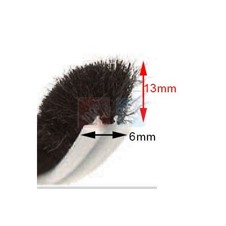 Joint Brosse 6mm x 13mm