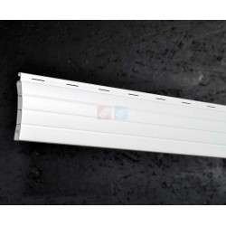 Lame 44mm PVC Blanc ou Gris 190cm de long