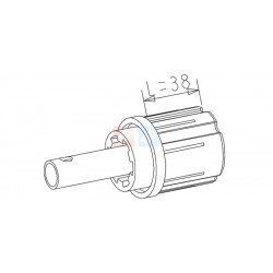 Embout  ZF45 - Tube Diam.16