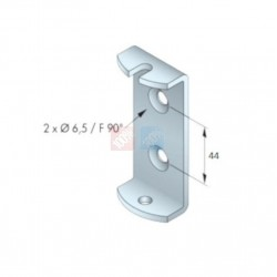 Etrier support T5 - Tradi Simu entre axe 44mm