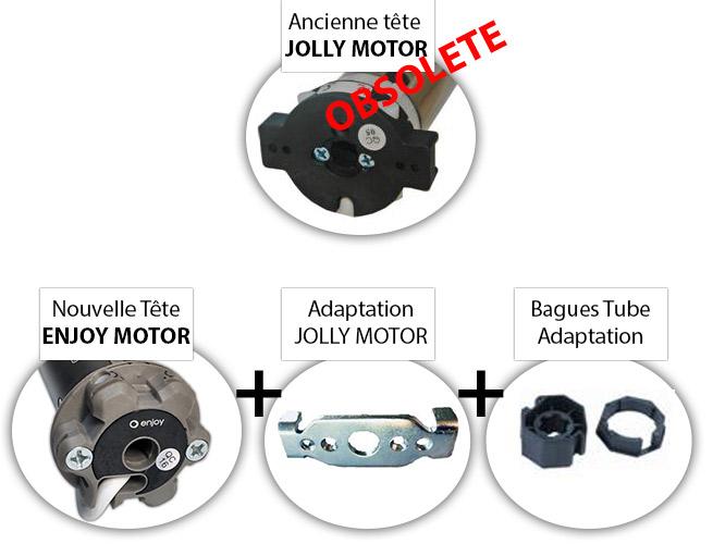 ancien moteur volet roulant jolly motor nouveau moteur Enjoy motors