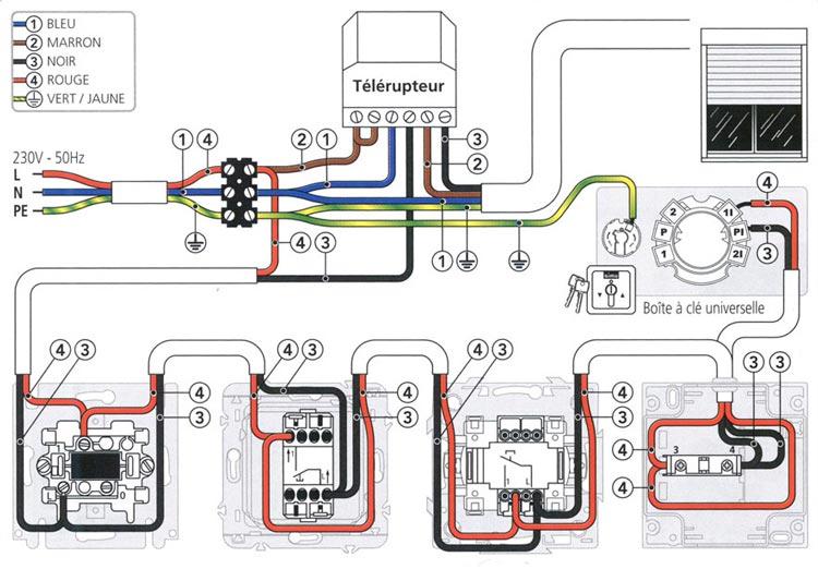 Comment Brancher Interrupteur De Volet Roulant 100 Volet Roulant