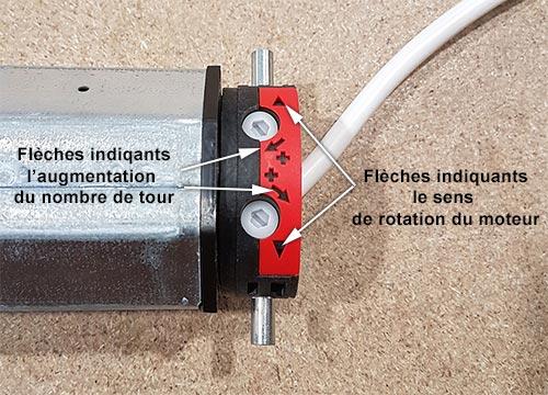 Reglages Des Fins De Courses Mecanique D Un Moteur De Volet Roulant 100 Volet Roulant