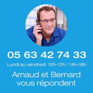 Contactez notre service client par téléphone ou mail pour vous aider à trouver votre pièce de volet roulant