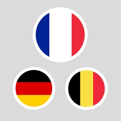 pays de fabrication: france, belgique, allemagne