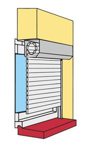 Sous linteau (tableau) – Enroulement Extérieur